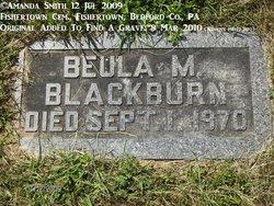 Beula May Blackburn