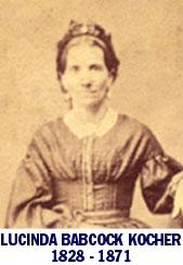 Lucinda A. <I>Babcock</I> Kocher