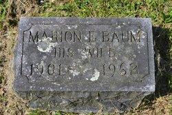 Marion Estelle <I>Baum</I> Walker