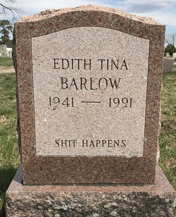 "Edith Christine ""Tina"" <I>Jackson</I> Barlow"
