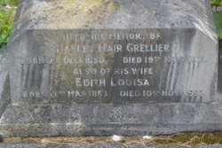 Edith Louisa <I>Taylor</I> Grellier