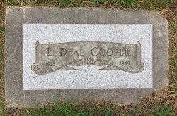 Earl Deal Cooper