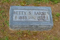 "Elizabeth S ""Betty"" <I>Reed</I> Barnes"