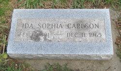 Ida Sophia Carlson