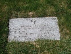 Thomas J Cudmore