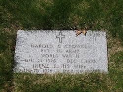 Harold C Crowell