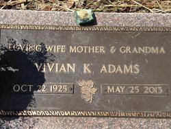 Vivian Katherin Adams