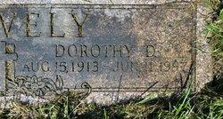 Dorothy H <I>Doolin</I> Snavely