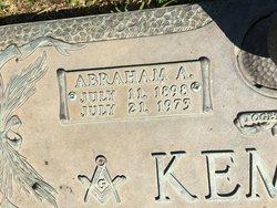 """Abraham Allen """"Abe"""" Kemble"""