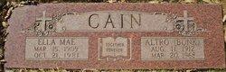 """Altro """"Bunk"""" Cain"""