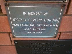 Hector Elvery Duncan