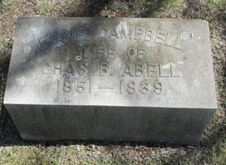 "Esther ""Essie"" <I>Campbell</I> Abell"