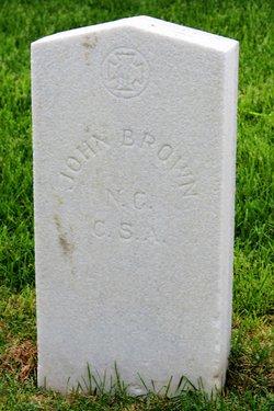 Pvt John E Brown
