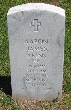SPC Aaron James Akins