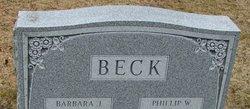 "Barbara J. ""Bobbi Jo"" <I>Hann</I> Beck"
