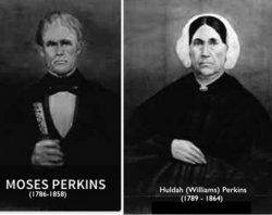 Huldah <I>Williams</I> Perkins