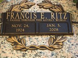 Francis E Ritz