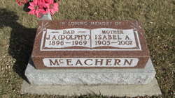 Isabel Agnes <I>Staples</I> McEachern