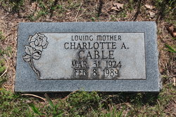 Charlotte M. Cable