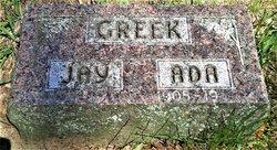 """George Jonas """"Jay"""" Greek"""