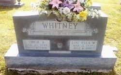 Lou Ella <I>Witt</I> Whitney