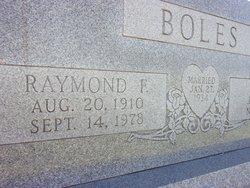 Raymond F. Boles