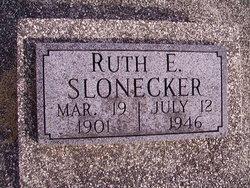 Ruth <I>Embry</I> Slonecker