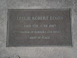 Leslie Robert Dixon