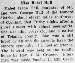 Mabel Irene Hall