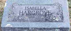 Isabella Martha J <I>Beavers</I> Hargrove