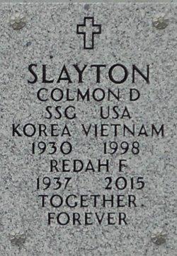 Colmon D Slayton