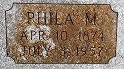 Phila M. <I>Allen</I> Brown