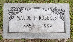 Maude <I>Foster</I> Roberts