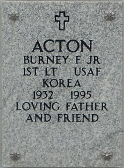Burney F Acton, Jr