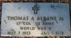 Thomas Anthony Albans, Jr