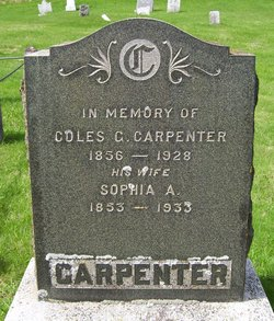 Coles G Carpenter