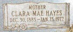 Clara Mae <I>Geiger</I> Hayes
