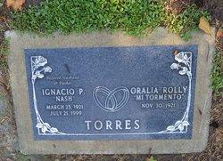"""Oralia Rolly """"Mi Tormento"""" Torres"""