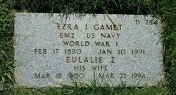 Ezra Isaac Gamet