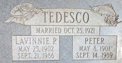 "Lavinnie P. ""Vinnie"" Tedesco"