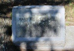 Mary <I>Kyle</I> Chenault