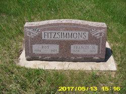 Frances M. <I>Rutten</I> Fitzsimmons
