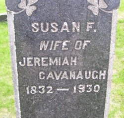 Susan F <I>Case</I> Cavanaugh