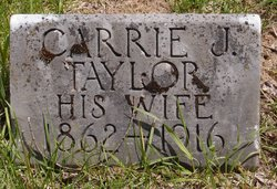 Carrie J. <I>Taylor</I> Bumpus