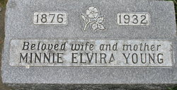 Minnie Elvira <I>Sundahl</I> Young