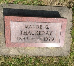 Maude G. Thackeray