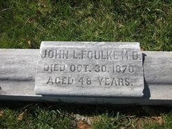 Dr John L Foulke