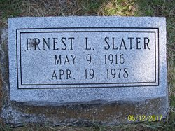 Ernest Leon Slater