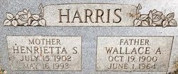 Henrietta <I>Smith</I> Harris