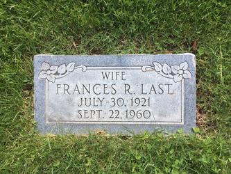 Frances R Last